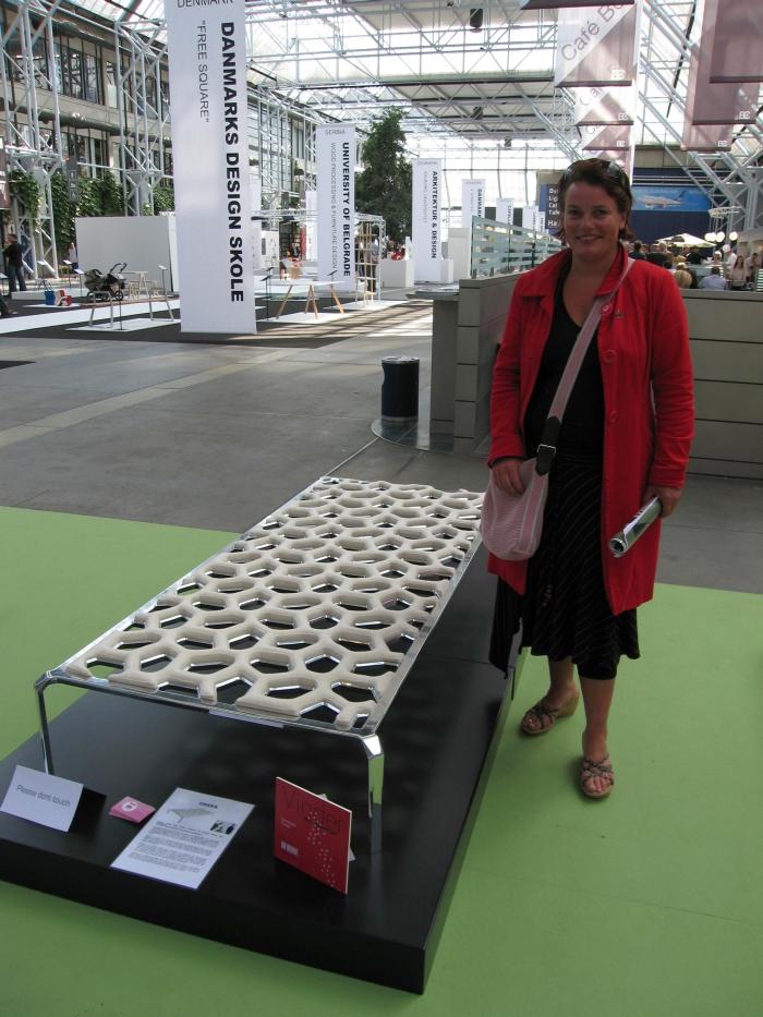 En glad Heidi Lauritzen fra Polstring.com